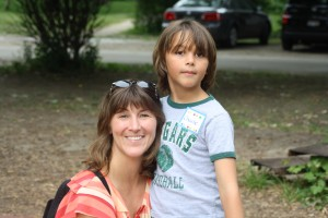 Kiddie Junction: Traci with son Charlie Rossi